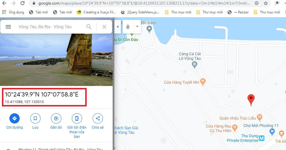 add marker to google map in laravel 5.8