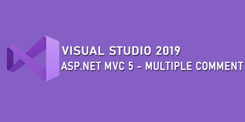 ASP MVC5 - Multiple Comment