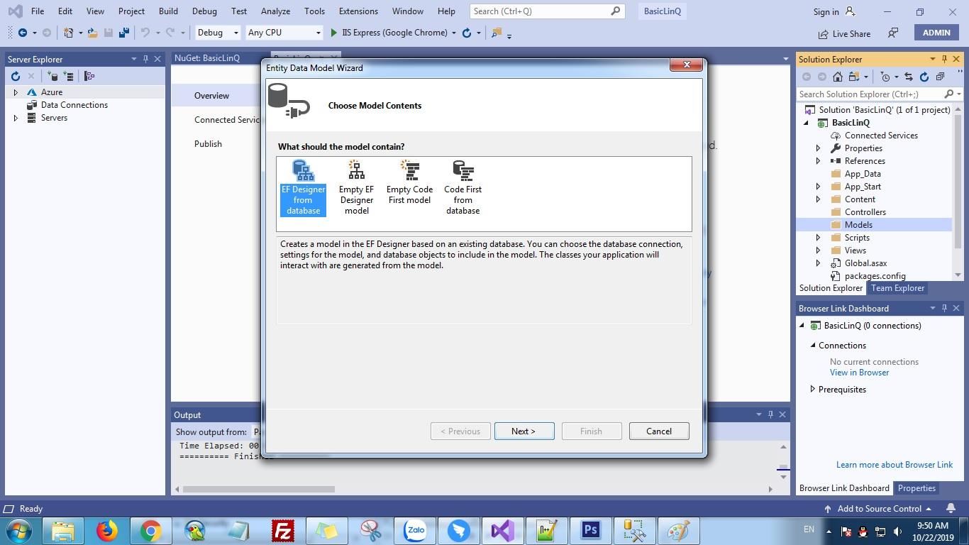 ASP.NET MVC 5 LinQ to SQL