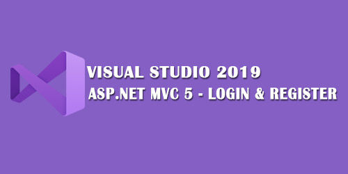 ASP.NET MVC 5 Login and Register