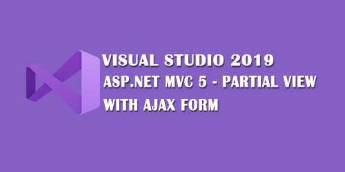 ASP.NET MVC 5 Partial View with Ajax Form