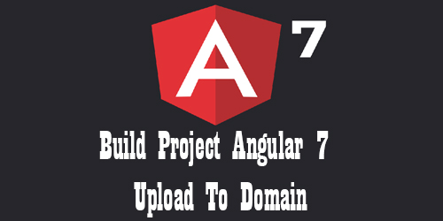 Build Project Angular 7 Upload To Domain