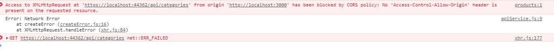 Restful API using ASP.NET Core Web API + React