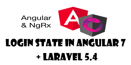Login State in Angular 7 + Laravel 5.4