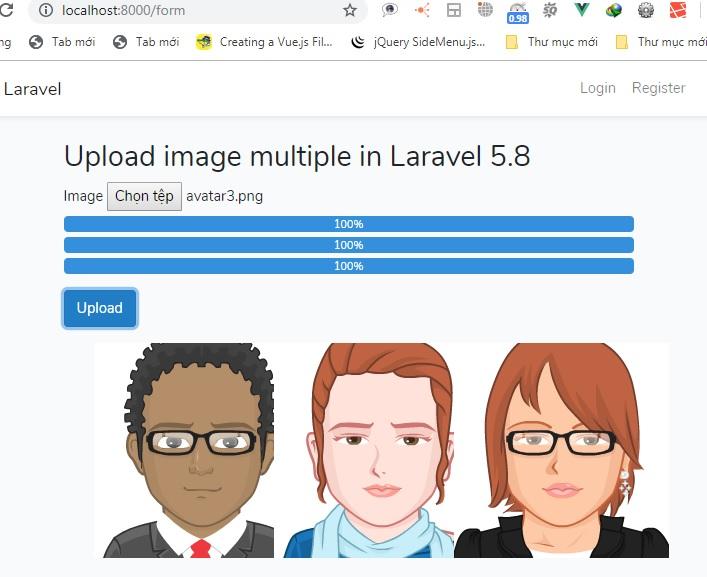 Multiple Image Upload using Ajax with Laravel 5.8
