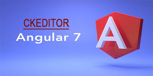 Ckeditor in Angular 7